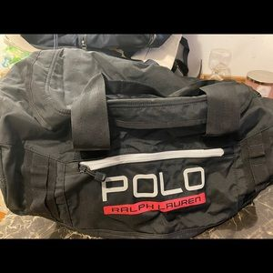 Polo Nylon Duffel. Great for the gym #workout